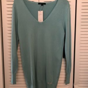 BCBG Max Azria lightweight v- neck sweater
